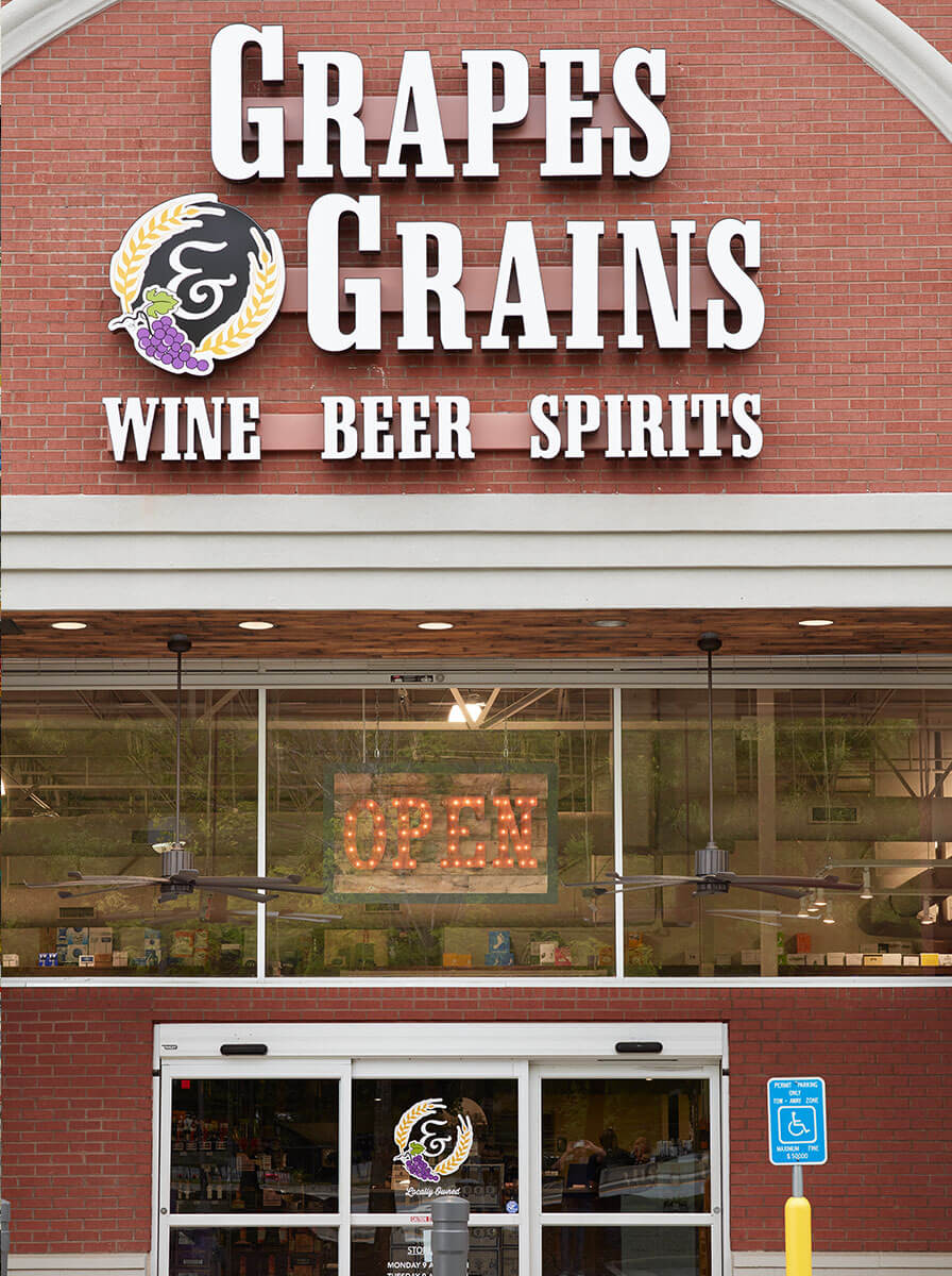 Grapes and Grains - Store Front